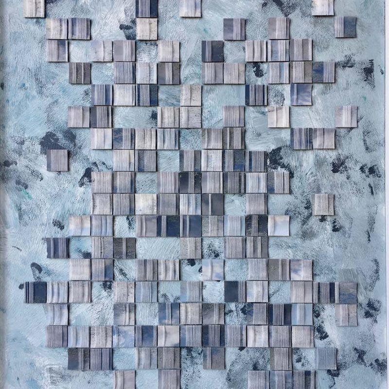 80x60cm, 2019, acrylic paint, photo, yarn