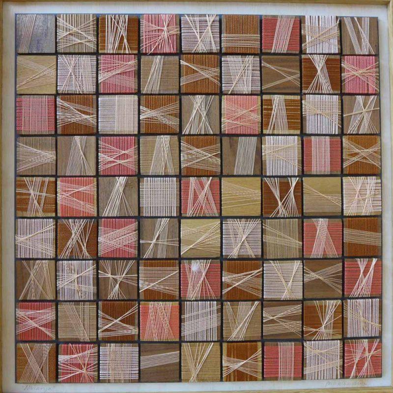 48x48cm, 2008, cederhout